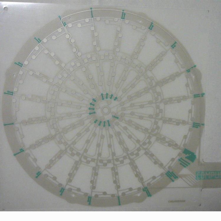 Kontaktní pole-snímací folie
